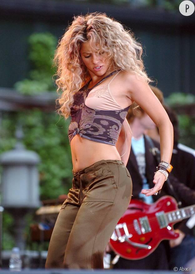 Shakira, un déhanché culte.