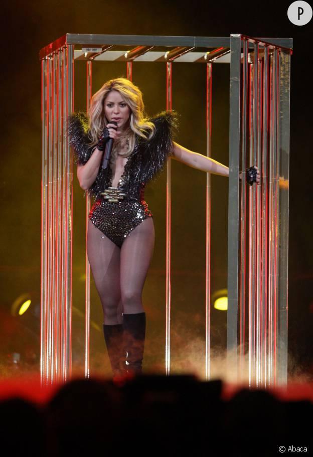 Shakira, sexy en body.