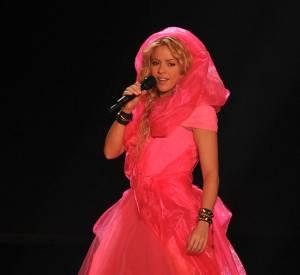 Shakira à Bercy en décembre 2010.