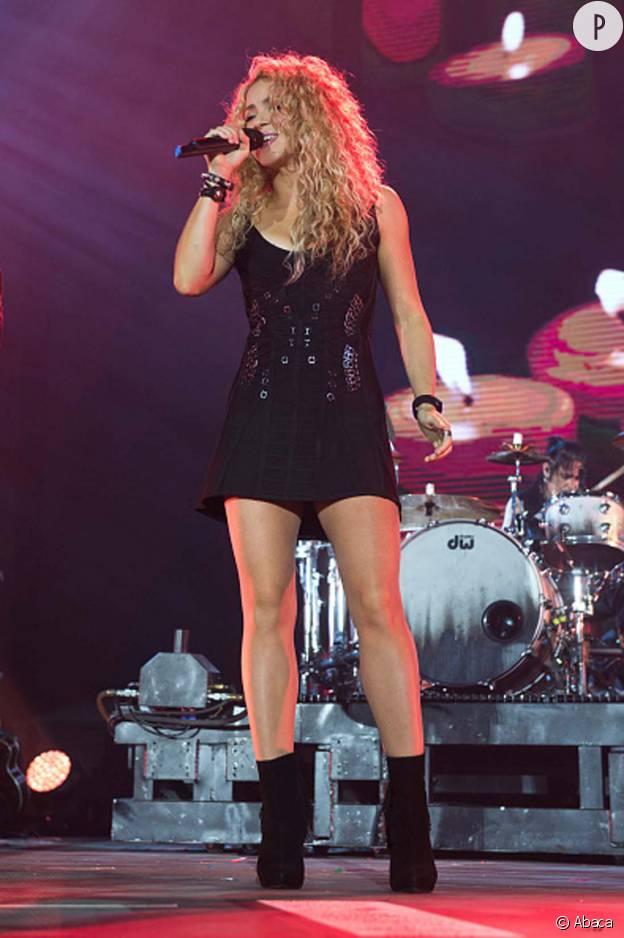 Shakira à Barcelone en septembre 2015.