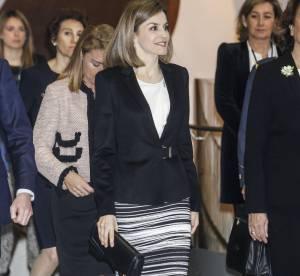 Letizia d'Espagne : executive woman en tailleur jupe, un look à copier