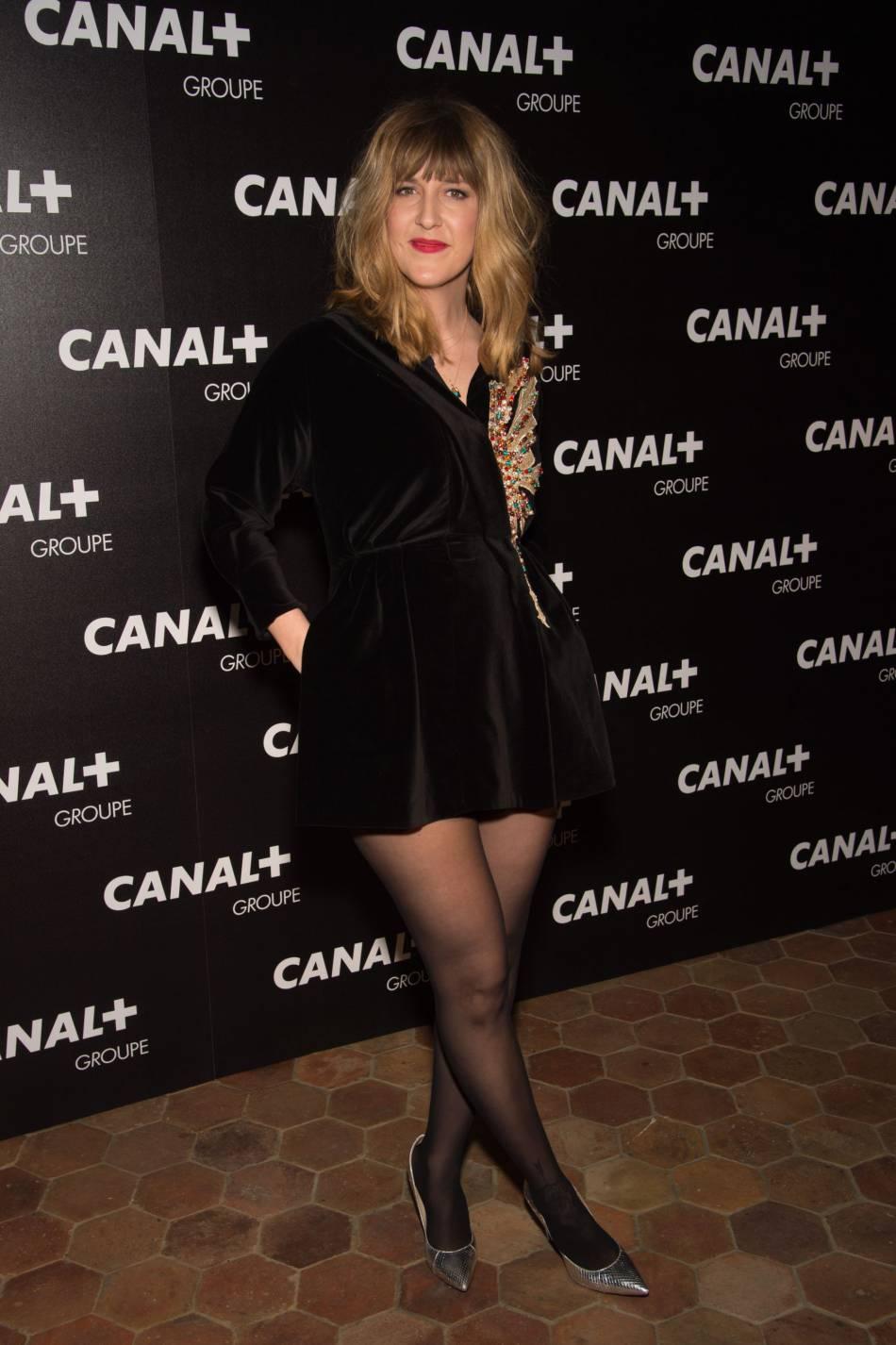 Daphné Bürki au restaurant Le Manko à Paris ce mercredi 3 février 2016.