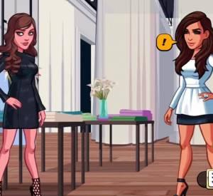"Démo du jeu ""Kim Kardashian : Hollywood""."