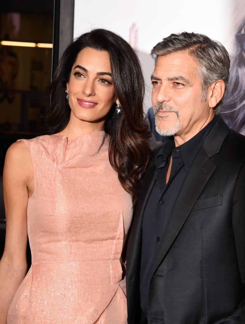 George et Amal Clooney se sont mariés en septembre 2014. La demande a été mouvementée pour le pauvre George.