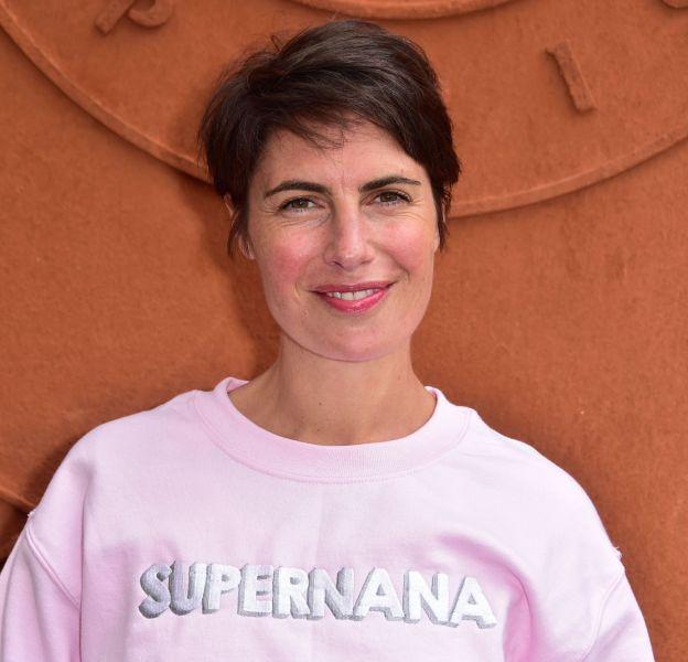 "Alessandra Sublet, une ""super nana"" à Roland Garros 2015."