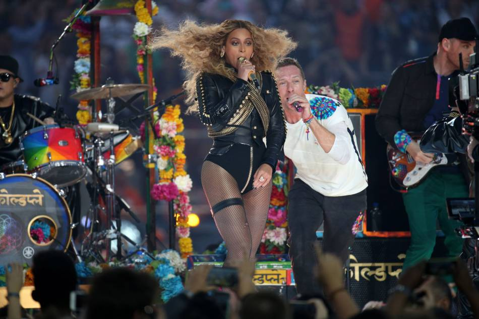 Beyoncé pique sans suprise la vedette à Coldplay.