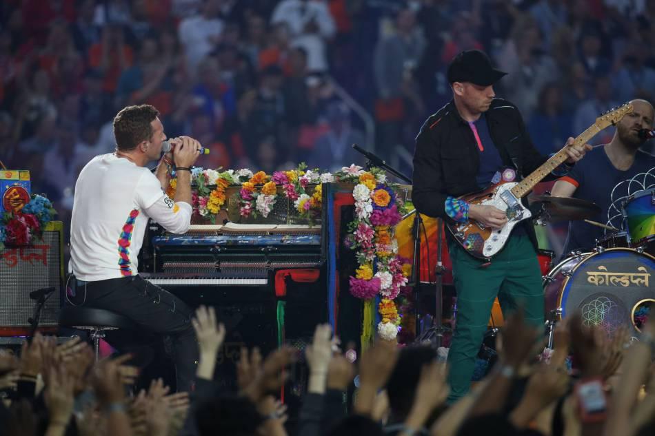 Coldplay devait être la star du show....