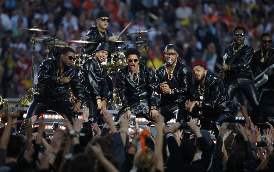 Bruno Mars a déjà assuré le show de la mi-temps en 2014.
