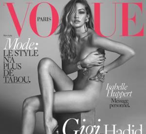Gigi Hadid : entièrement nue pour sa première couverture du Vogue Paris