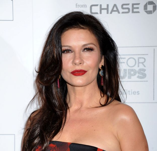 Catherine Zeta-Jones : à 46 ans, l'actrice est rayonnante.