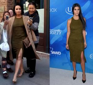Demi Lovato vs Kourtney Kardashian : le suède sexy en robe moulante