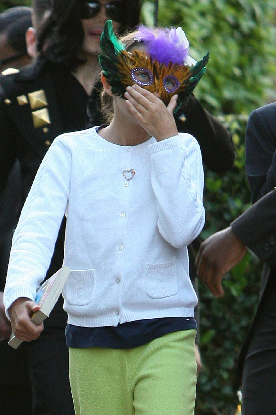 Paris Jackson a passé son enfance sous des masques.