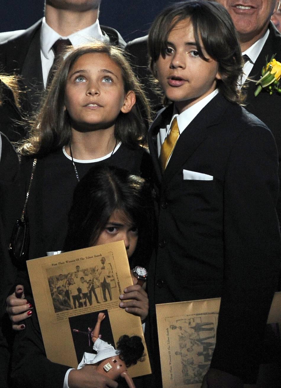 Le monde entier a découvert le visage des enfants du King of Pop lors de sa mort.