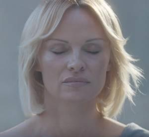 Pamela Anderson : méconnaissable et émouvante dans le court métrage Connecté