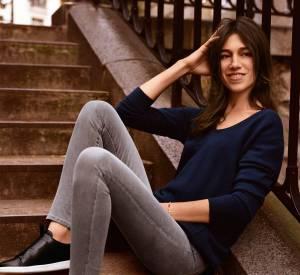 Charlotte Gainsbourg pose une nouvelle fois pour Comptoir des Cotonniers mais cette fois-ci pour la capsule avec J Brand.