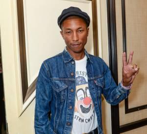 Pharrell Williams se converti dans le denim.