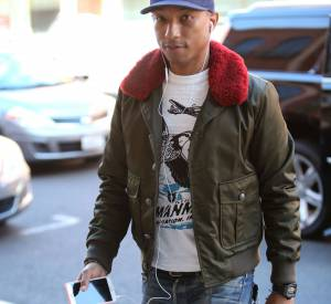 Pharrell Williams et G-Star, visiblement une histoire sans fin.
