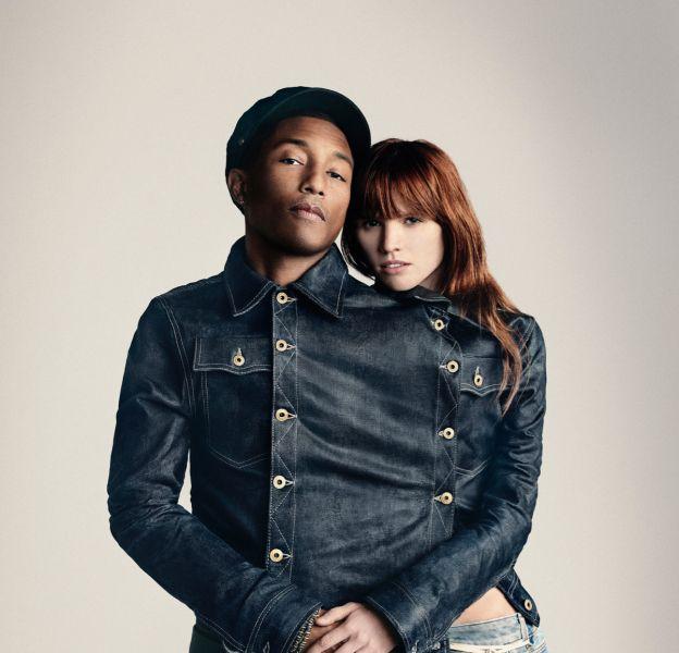 Pharrell Williams annonce son nouveau statut de copropriétaire de la marque G-Star.