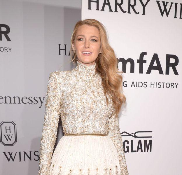 Blake Lively en Chanel au gala de l'amfAR, le 10 février à New York.