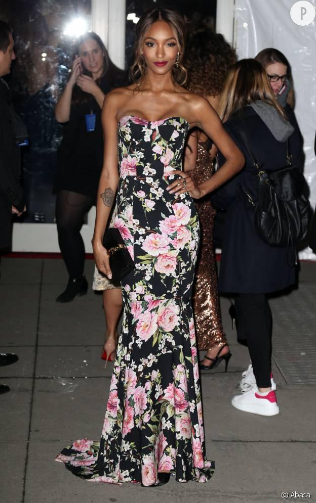 amfAR : Jourdan Dunn, superbe en Dolce & Gabbana.