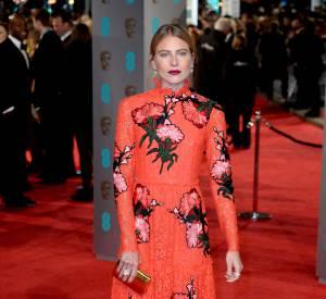 Dree Hemingway aux BAFTA Awards, ce dimanche 14 février 2016.