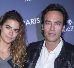 Anthony Delon et sa fille Alyson Le Borges en octobre 2015.