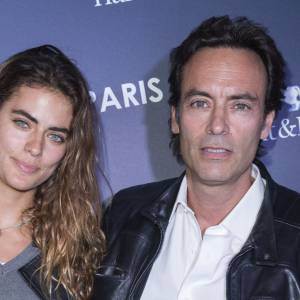 Anthony Delon et sa fille Alyson Le Borges en octobre 2015.