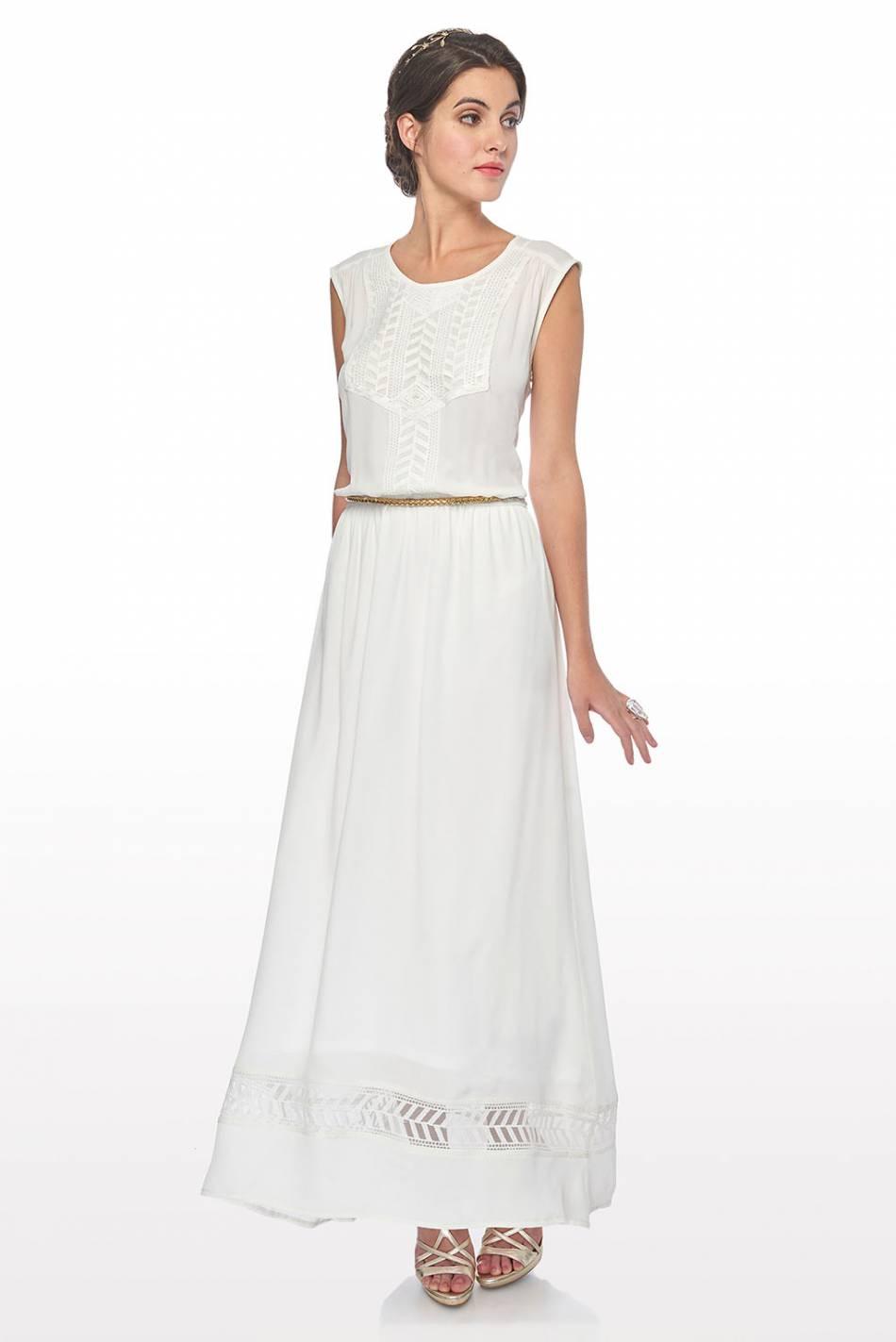 weddingirl la robe longue voile puretrend. Black Bedroom Furniture Sets. Home Design Ideas