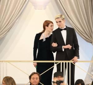 Gabriel-Kane Day-Lewis au défilé Chanel Automne-Hiver 2015/2016.