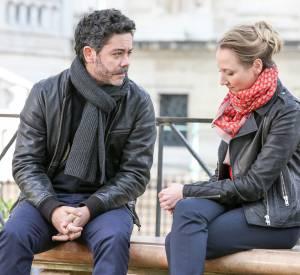 Antoine (Manu Payet) et Alice (Audrey Lamy), un couple qui se sépare.