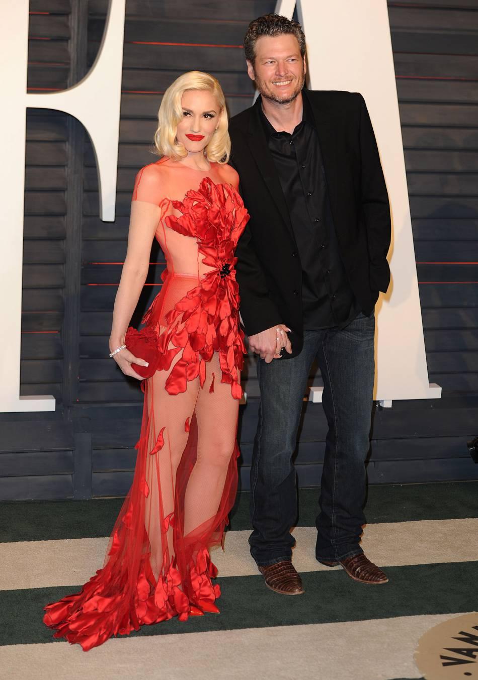 Gwen Stefani file le parfait amour avec Blake Shelton depuis six mois.