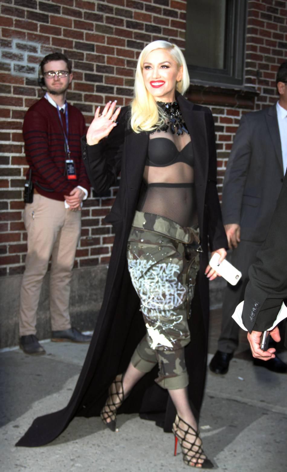 Gwen Stefani a vécu un petit incident en soirée.