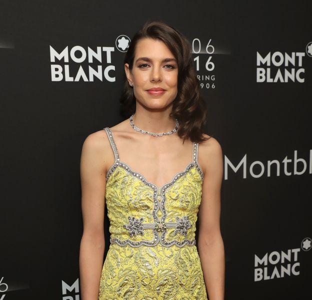 Charlotte Casiraghi était rayonnante en Gucci, parée par Montblanc.