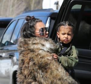 Kim Kardashian: sa fille North porte des extensions à 2 ans et crée la polémique