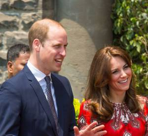Kate Middleton et le prince William sont arrivés en Inde