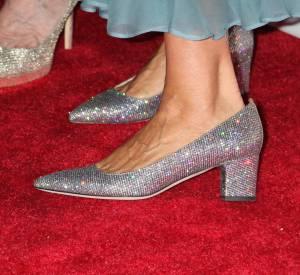 Sarah Jessica Parker porte les escarpins de sa nouvelle collection de chaussures SPJ.
