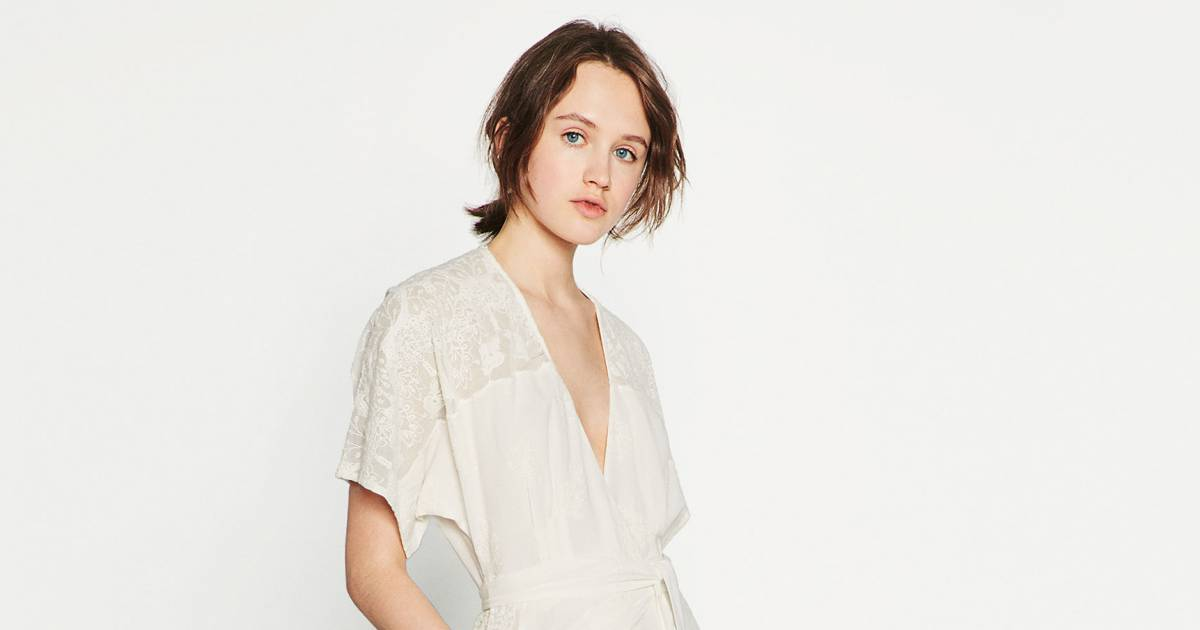 Robe De Chambre Fille Zara : Robe chemise de chambre zara euros