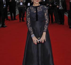 "Helen Mirren a présenté le film ""Opération Eye in the sky"" à la presse, ce lundi 11 avril 2016."