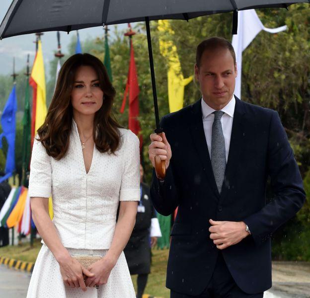 La Duchesse de Cambridge, Kate Middleton et son époux, le Prince William.