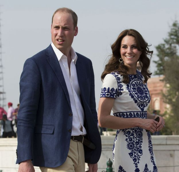 La Duchesse de Cambridge, Kate Middleton et son époux le Prince William