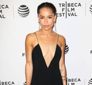 Zoë Kravitz : glamour et torride, elle affiche sa poitrine sur le red carpet !