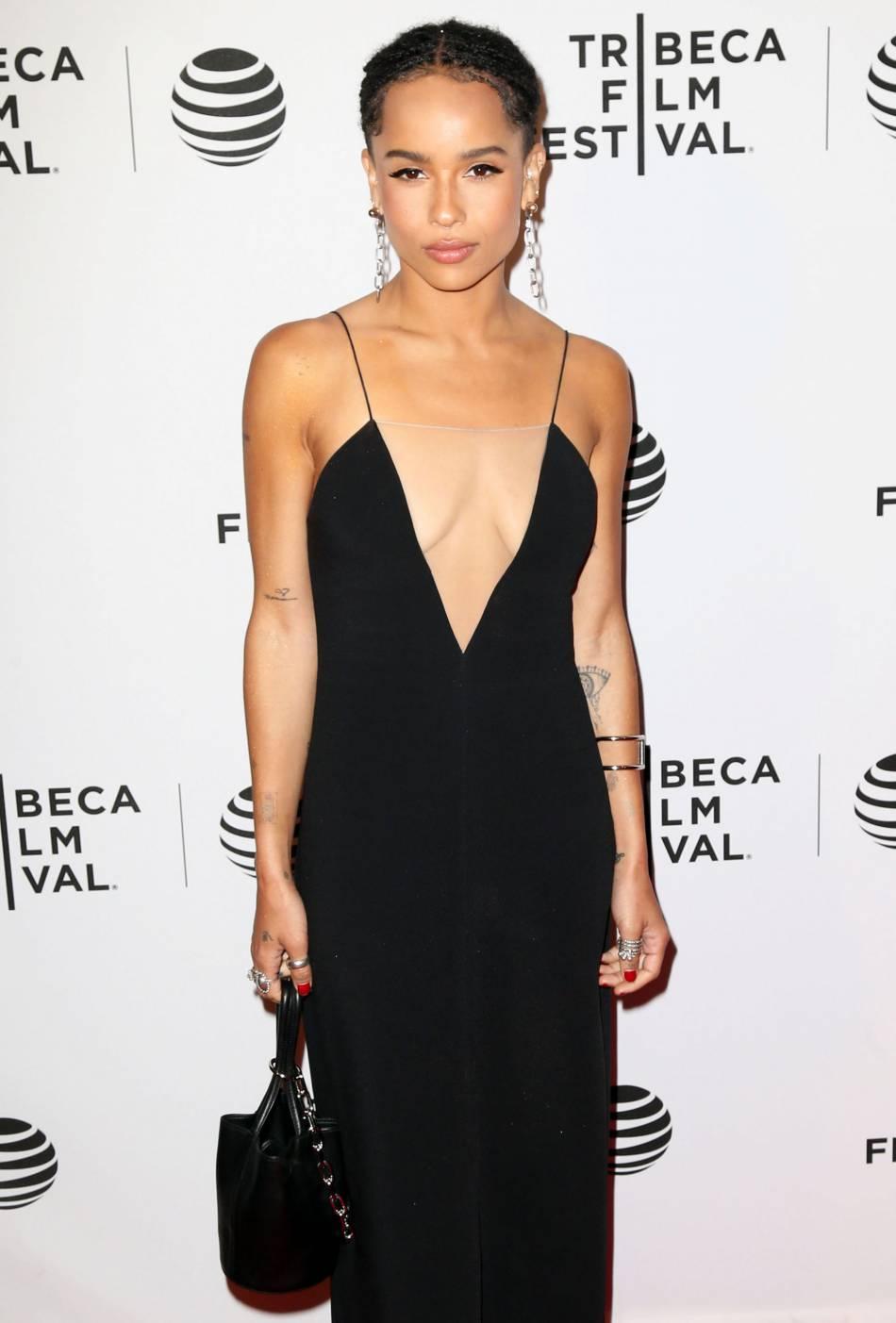 """Zoë Kravitz assiste à la première du film """"Vincent N Roxxy"""" lors du 2016 Tribeca Festival Film ce lundi 18 avril 2016 à New York."""