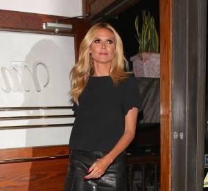 Heidi Klum : torride pour son dîner aux chandelles...