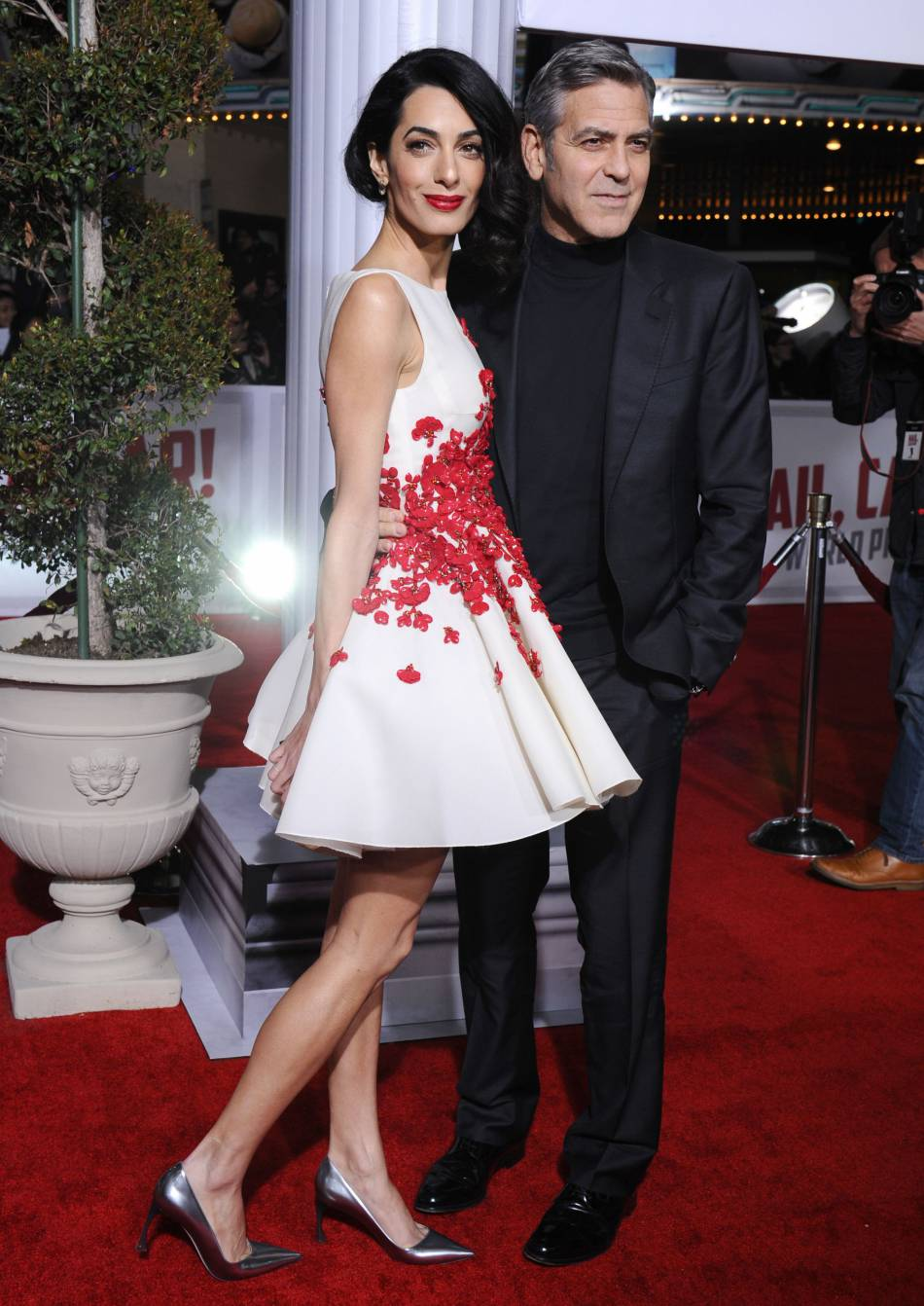 George Clooney est le plus heureux des hommes aux côtés d'Amal.