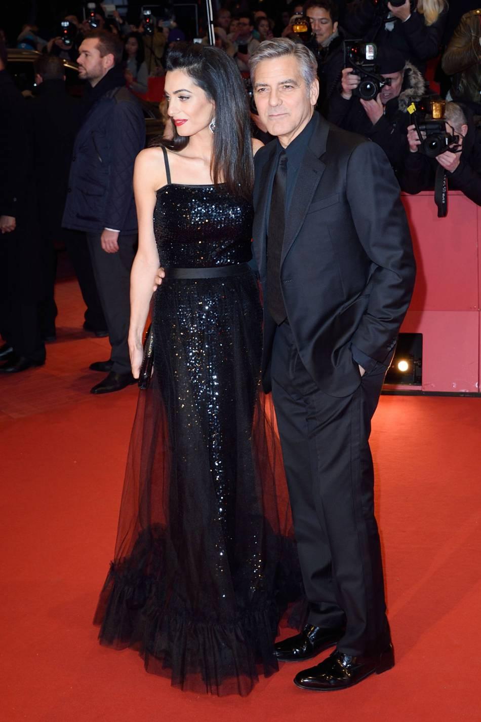 George Clooney et Amal forment un couple parfait.