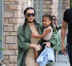 Kim Kardashian : tresses et même allure, son selfie craquant avec North