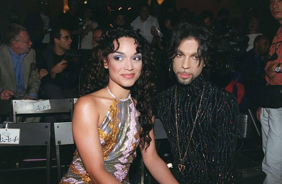 Prince et sa première femme, la danseuse Mayte Garcia.