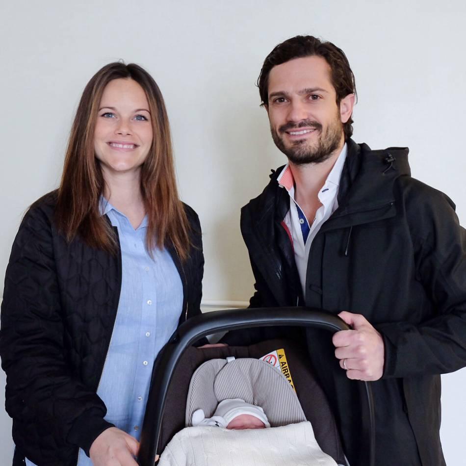 Le bébé est né le 21 avril.