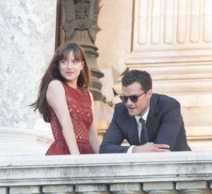 Dakota Johnson prend son rôle de cobaye de Christian Grey très à coeur.