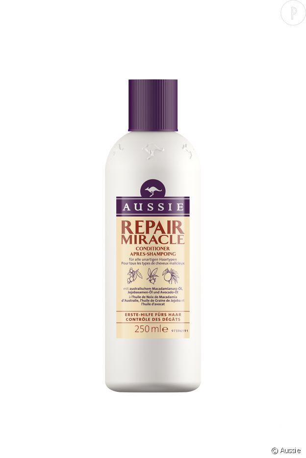 Après-shampoing Miracle Repair, Aussie, 5,74€.
